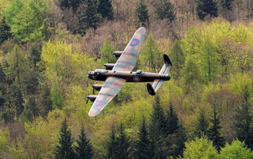Lancaster bomber - Photography portfolio, SemiStone Media, Chichester, West Sussex