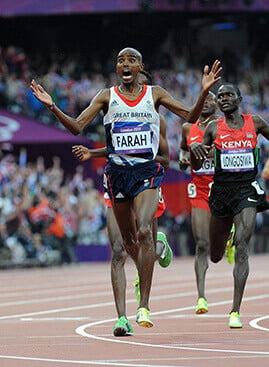 Mo Foster wins 10k at Olympics