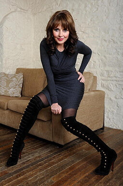 Carol Vorderman photoshoot- Photography portfolio, SemiStone Media, Chichester, West Sussex